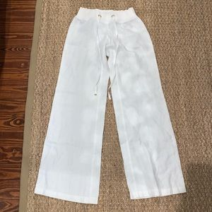 """Lilly Pulitzer 33"""" LINEN BEACH PANT"""